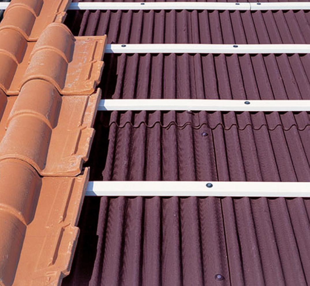 Como colocar tejas arabes amazing soporte continuo para - Precio onduline bajo teja ...