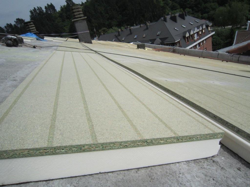 Sate cubierta onduline cubimat for Panel aislante termico