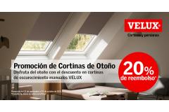 PROMOCION DE OTOÑO - CORTINAS VELUX
