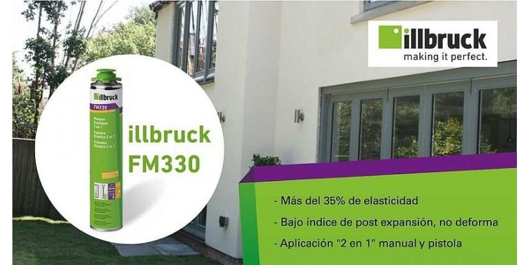 ESPUMA PU ILLBRUCK FM330, LA ELASTICIDAD QUE AISLA Y PROTEGE