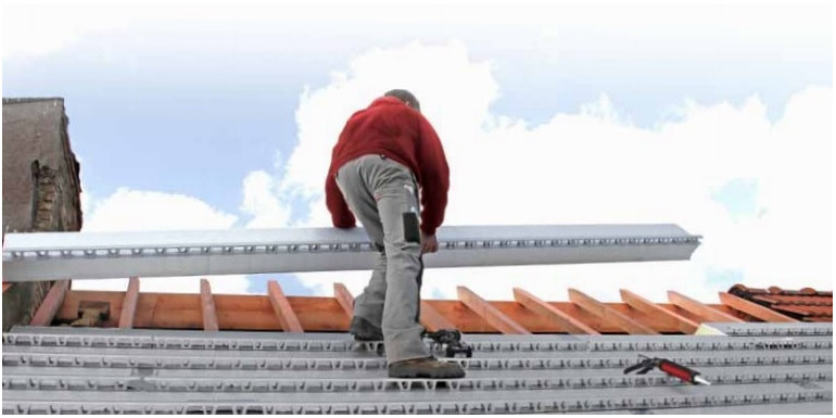 Sat Sistema de Aislamientos de tejado para cubiertas inclinadas