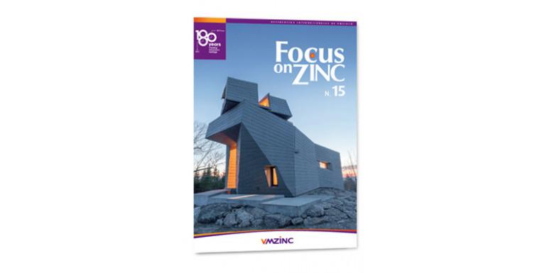 La 15ª edición de la revista internacional Focus on Zinc de VMZINC
