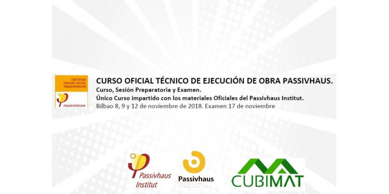 CURSO OFICIAL TECNICO DE EJECUCION DE OBRA PASSIVHAUS